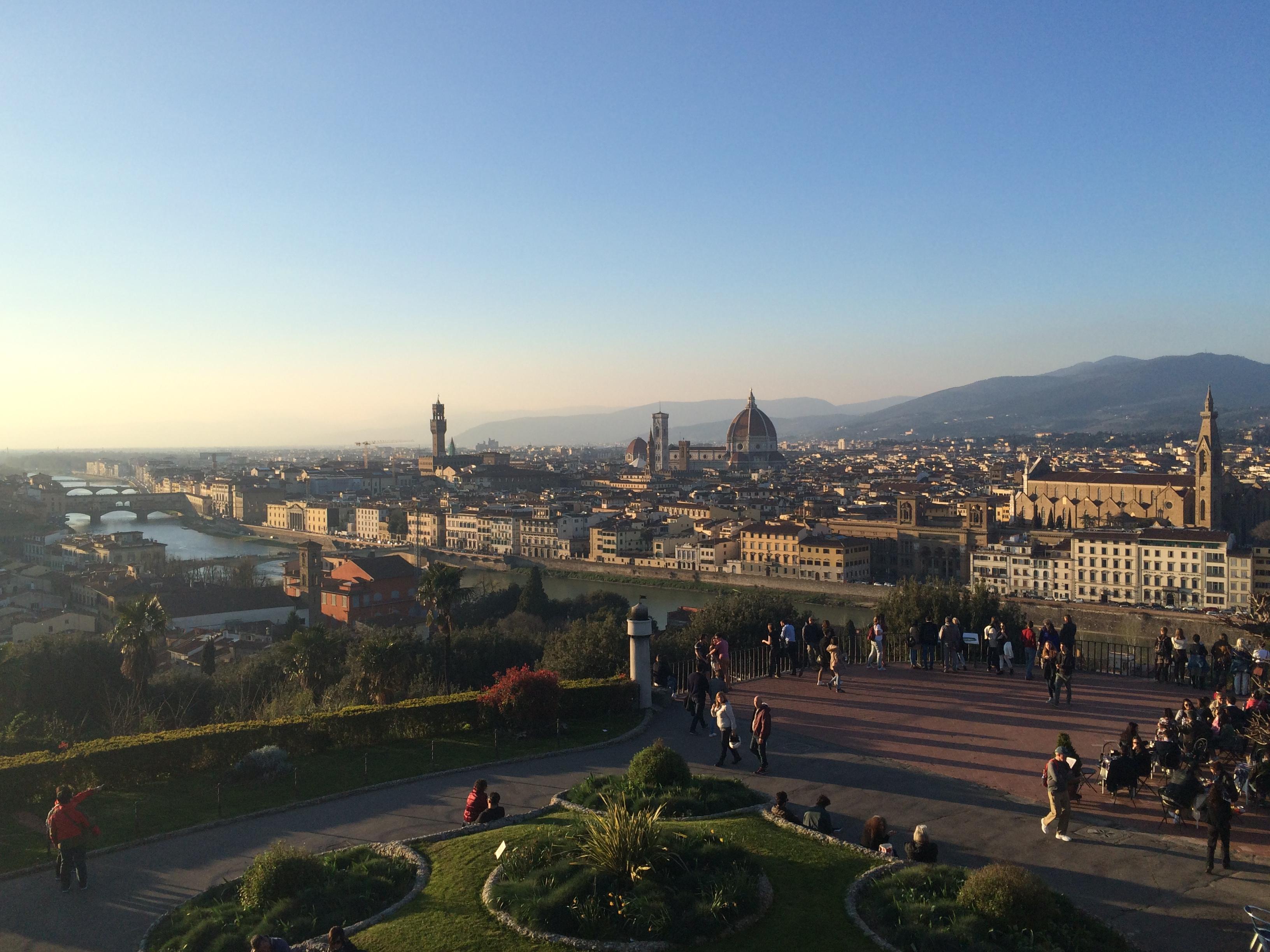 Mart'ta Floransa (ve Siena)